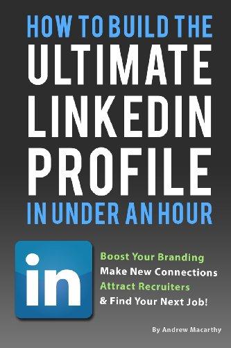 linkedin profile tips book