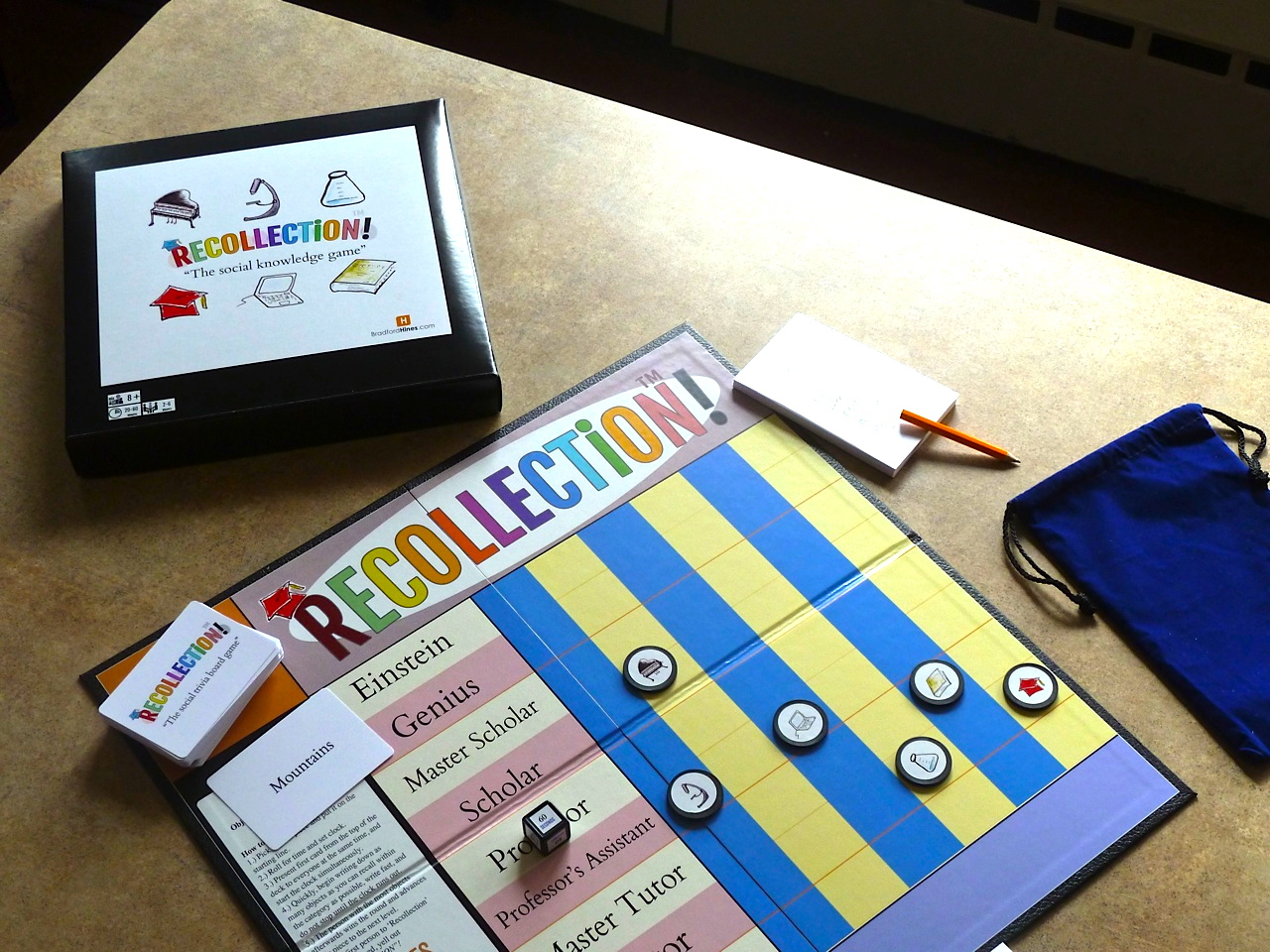 recollection board game by brad hines