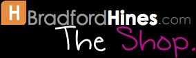 brad hines store shop logo