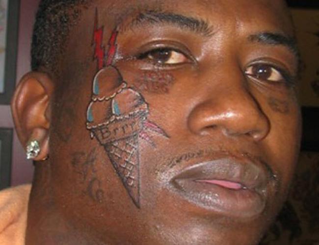 August Alsina Sideburn Tattoo Image